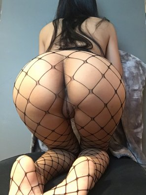 amateur photo Anyone like fishnet??