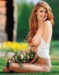 amateur photo Smiling redhead