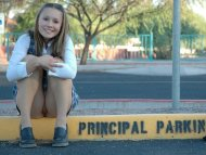 Will the Principal Give Her a Ride Home?