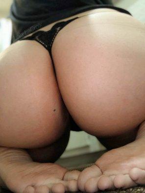 amateur photo Borrowed my G[F]'s panties