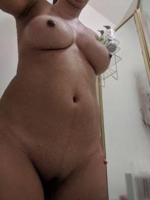 amateur photo Wanna join this dirty little slut for a shower?