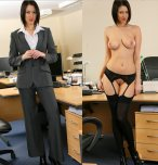 amateur photo Now I know what is under my business associates clothes
