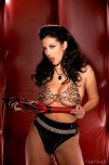 amateur photo Jelena Jensen is ready if you need a whipping
