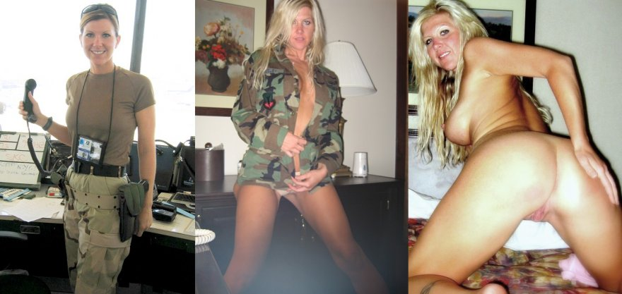 Real Soldier Army Girl On  And Puff Off Porn Pic -8472
