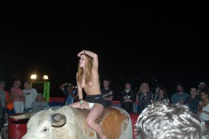 amateur photo Riding The Bull