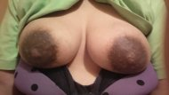 My wifes tits and nipples got huge