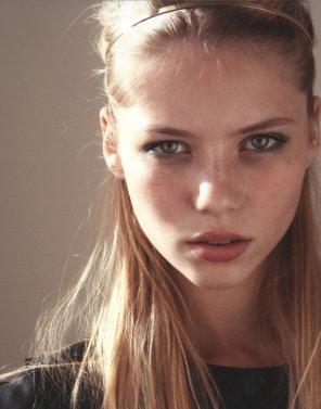 amateur photo Pretty Freckles