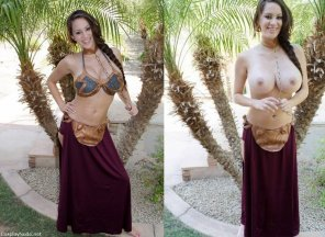amateur photo [Star Wars] Slave Leia