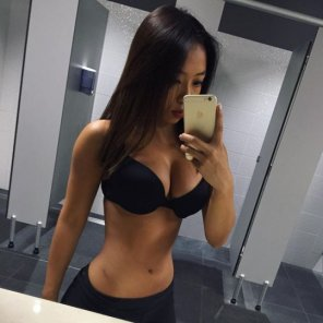 amateur photo Very Focused Asian Girl