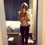 amateur photo forearm bra