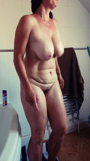 amateur photo After shower