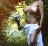 amateur photo In the garden