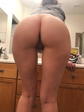 amateur photo I had to stand on a step stool - short girl problems! [f]