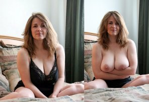 amateur photo PictureStunning Milf On/Off