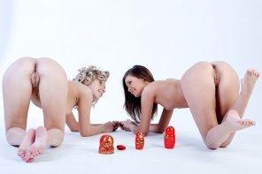 amateur photo Matryoshka Dolls