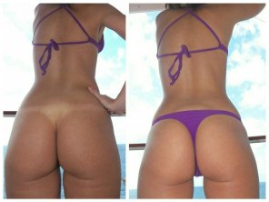 amateur photo Thong tan lines, yes or no?