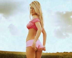 amateur photo Marissa Miller in Pink