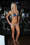 amateur photo Amazing blonde bar tender