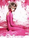 amateur photo Pink paint