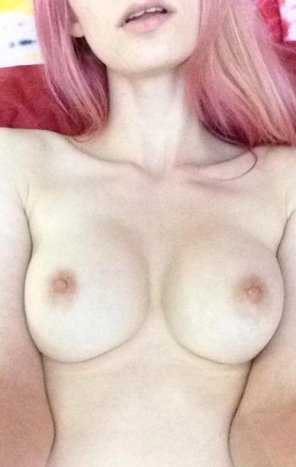amateur photo [f]rom when I had pink hair