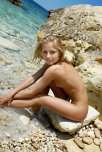 amateur photo Beach blonde