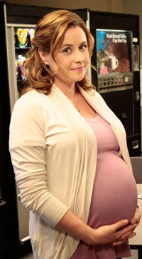 amateur photo Big Pregnant Pam from the office IRL