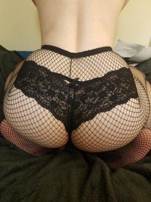 amateur photo Please enjoy my goth butt!