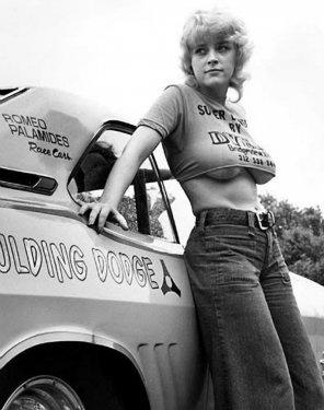 amateur photo Vintage Grid Girl Barbara Roufs