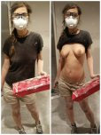 amateur photo Real working girl!