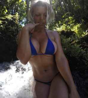 amateur photo Platinum blonde