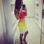 amateur photo Multicolored Dress