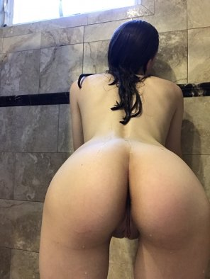 amateur photo Let's conserve water and shower together [f]
