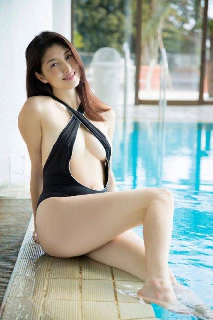 Taking a dip Porn Photo