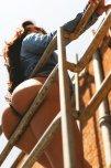 amateur photo On the railing