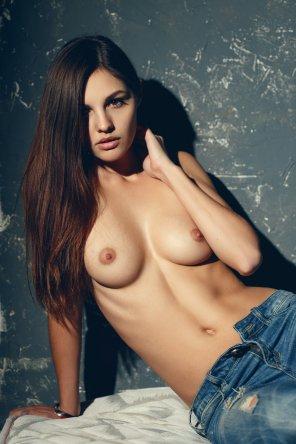 amateur photo Unbuttoned