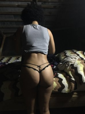 amateur photo GF fat ass and my favorite thong