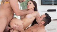 Super hot Sasha Rose gets slammed with a Hot Creampie