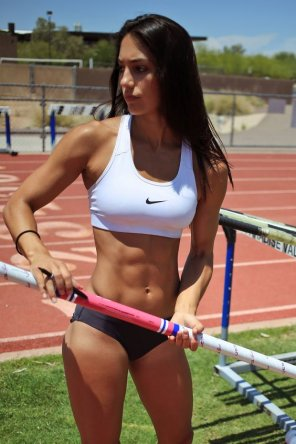 amateur photo Allison Stokke