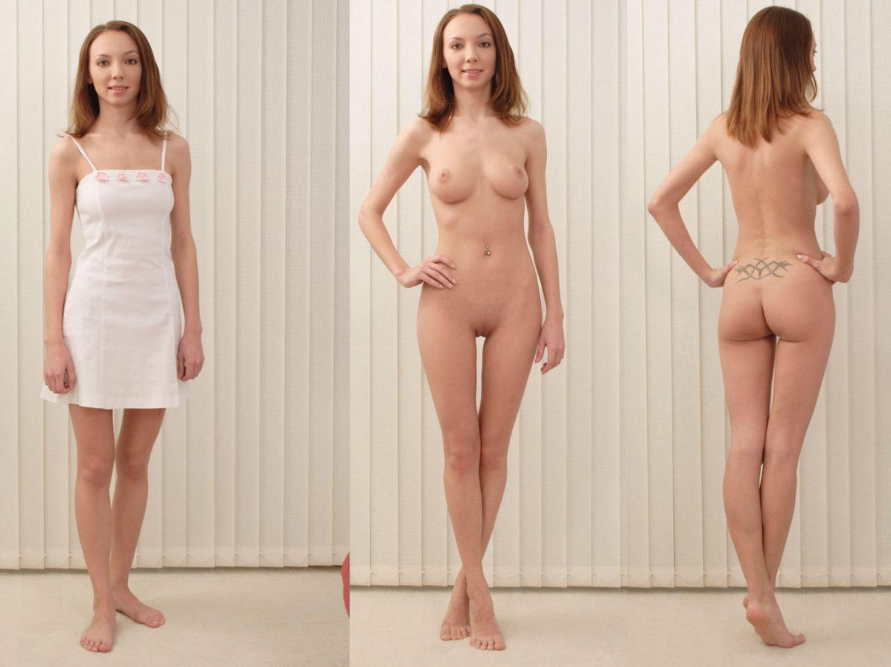 undressed casting