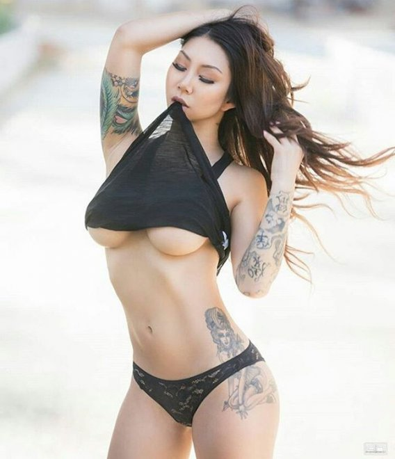 Ink and Under-Boob Porn Photo
