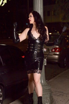 amateur photo They told me I could be anything...so I became a 7 [f]oot Dominatrix