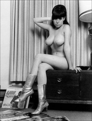 amateur photo 1960s pinup