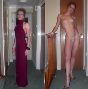 amateur photo Very nice dress, can you take it off :p
