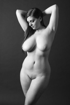 amateur photo Beauty in black and white.