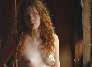 amateur photo A bad hair day for this ginger, just makes her hotter!