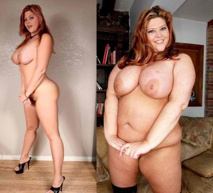 Chubby girl naked weight gain naked shaking, support