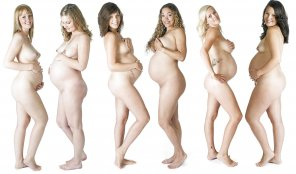 amateur photo Group of preggos