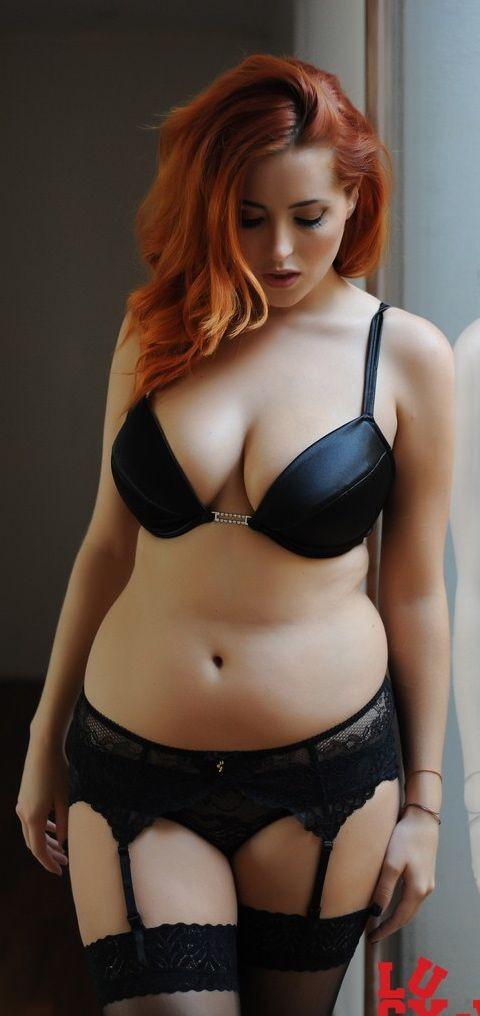 Good curvy voluptuous redhead