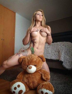 amateur photo teddy bear