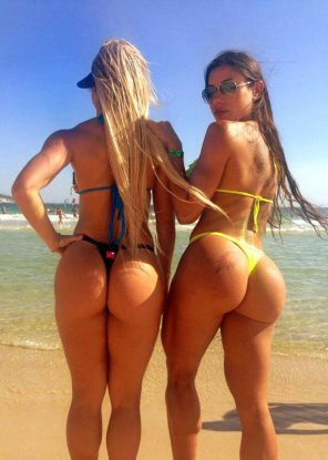 amateur photo 2 types of Booties